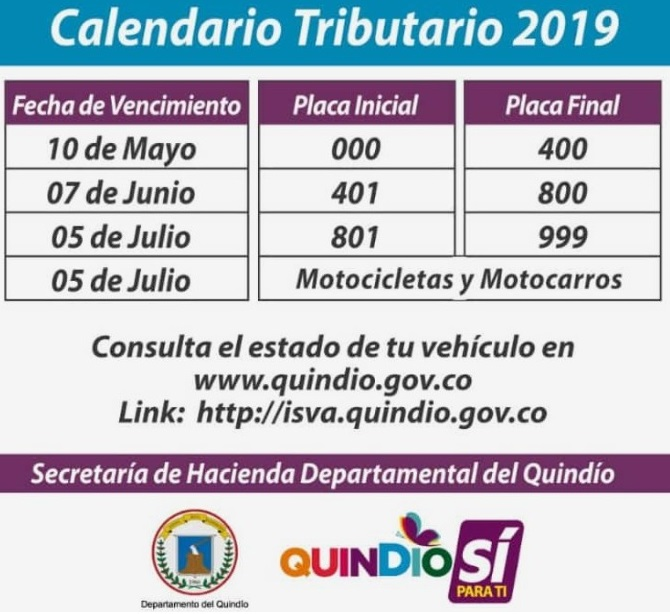 CalendarioTributario2019